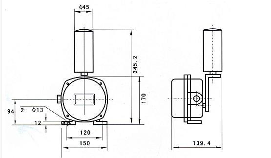 SRED-TS-WO1皮带跑偏开关,DDP-LJ2两级跑偏开关适用于皮带输送机,能使皮带输送机在皮带跑偏将导致严重挂边磨损甚至发生撕裂事故前就发出报警信号以及进一步的自动停车。 能及时有效的保护设备安全、避免事故扩大化,达到保障生产、保护设备的目的。另外由于信号可发送至控制系统,方便实现工厂自动化控制,因此又可达到减员增效,集中控制,利于生产与调度的目的。,2开2闭二级跑偏开关